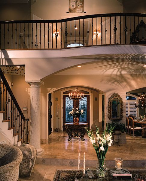 Luxury Homes Foyer howards ridge luxury home | home, lakes and house plans
