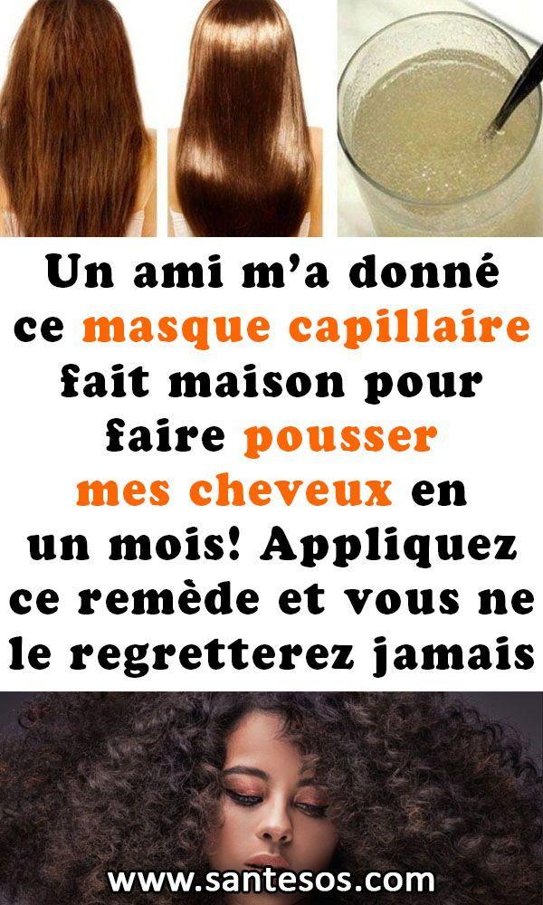 Masque Pour Faire Pousser Les Cheveux : masque, faire, pousser, cheveux, Remèdes, Maison