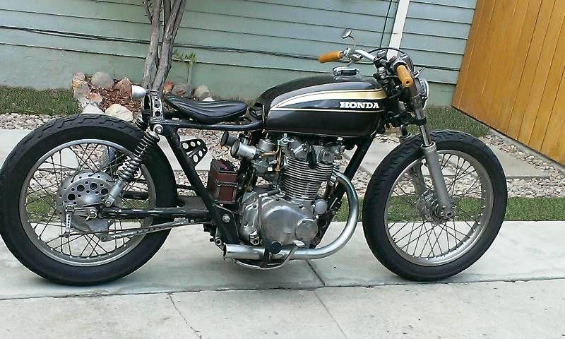 1973 Honda CB450 Bobber