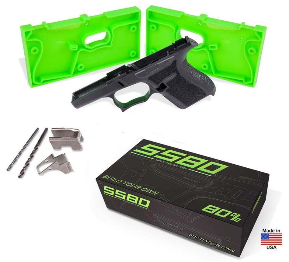 SS80 Glock 43 frame | 2018 SHOT Show | Pinterest | Guns and Weapons