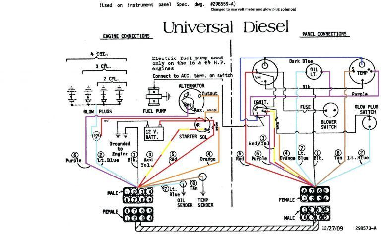 240 Vac 1 Phase Wiring Diagram in 2020 Alternator