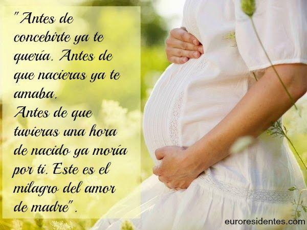 Frases Para Madres Embarazadas Madre Embarazada Frases Para