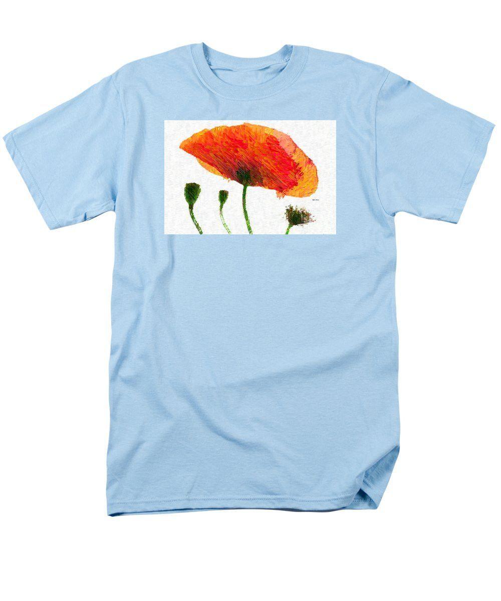 Men's T-Shirt (Regular Fit) - Abstract Flower 0723