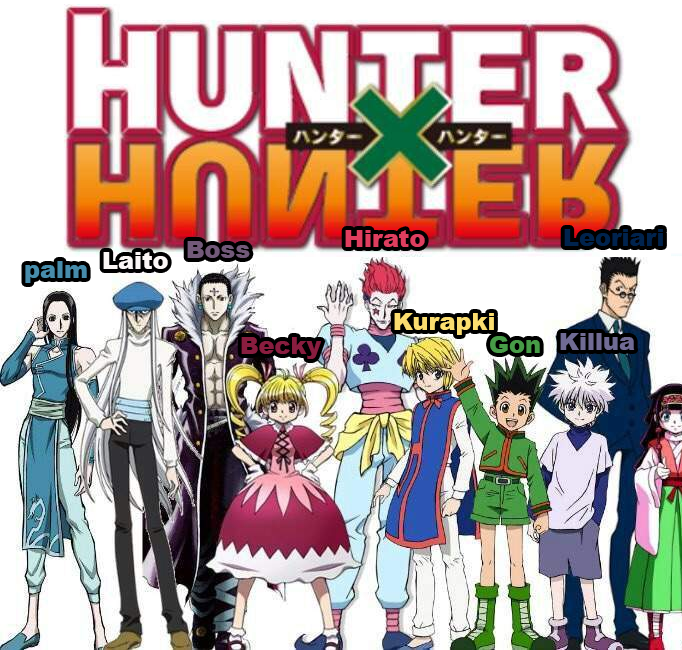 Watched Hxh With My Mother And Asked Her To Name The Characters How She Remembered Them Hunterxhunter Reddit Post By Daydre Hunter X Hunter Hunter Character
