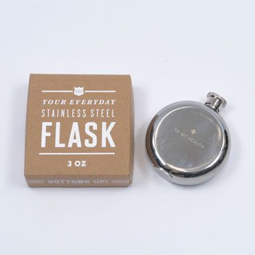 compact little flask.