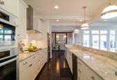 30 Beautiful Galley Kitchen Design Ideas -  30 Beautiful Galley Kitchen Design Ideas  - #Beautiful #design #galley #Ideas #kitchen #ikeagalleykitchen