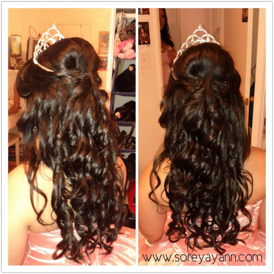 Pin By Yecenia Sanchez On Quinceanera Quince Hairstyles Quinceanera Hairstyles Hair Styles
