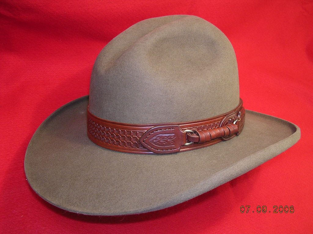 Hatband Mmade By Madrileatherworks Leather Cowboy Hats Cowboy Hats Hats For Men