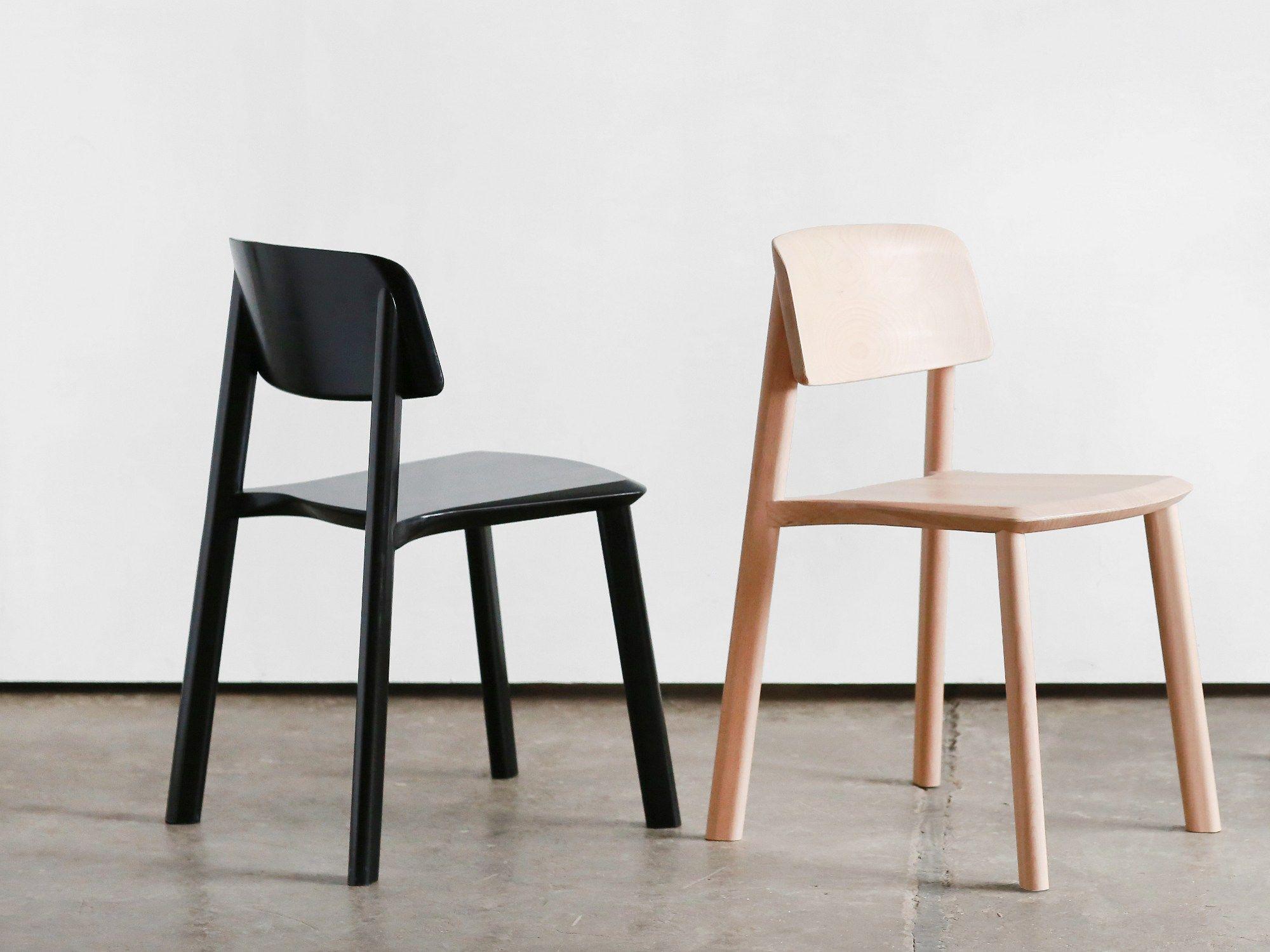 Sedia in legno massello JUST By Wir Design | SEDIE LEGNO | Pinterest
