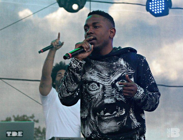Kendrick Lamar @ Governors Ball 2013, Randall's Island, NYC