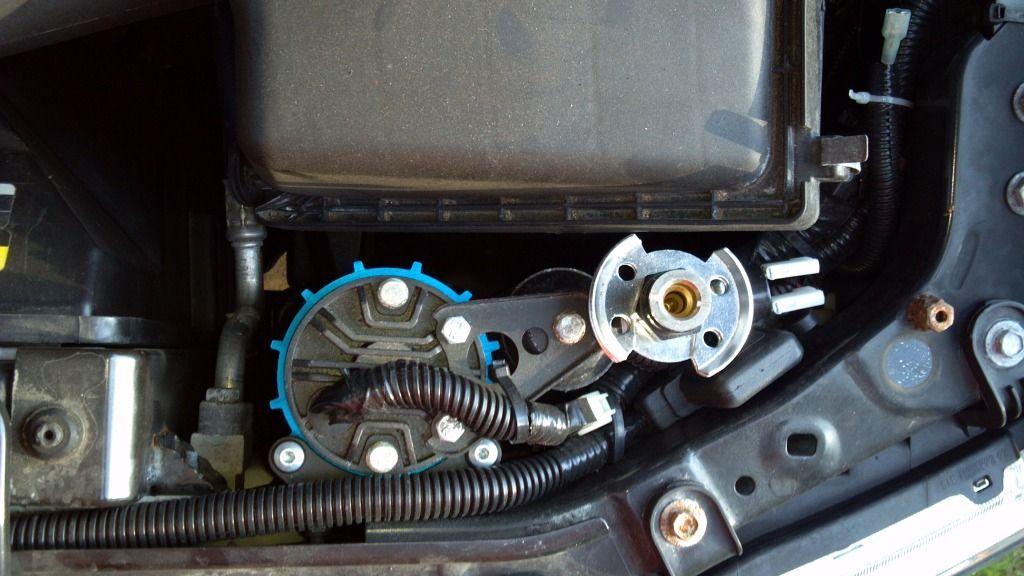 ARB CKMA12 Compressor Installed Under Hood Second