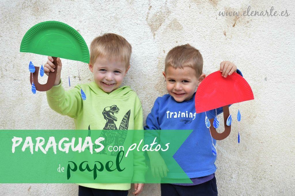 Paraguas de papel / www.elenarte.es