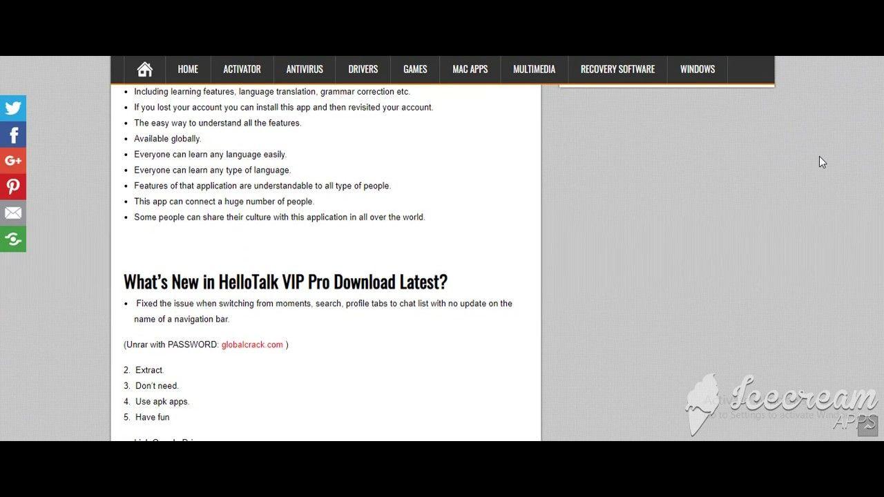HelloTalk VIP Pro v2 6 7 Apk Download Latest | globalcrack