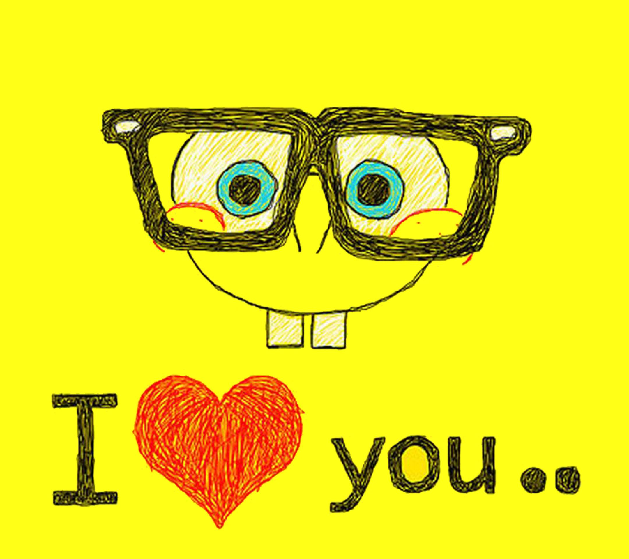 Spongebob I love you wallpaper quotes sayings