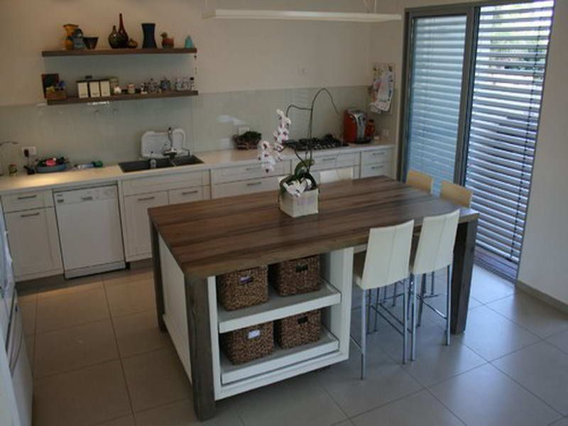 Marvelous Counter Height Kitchen Tables With Storage With Modern Design