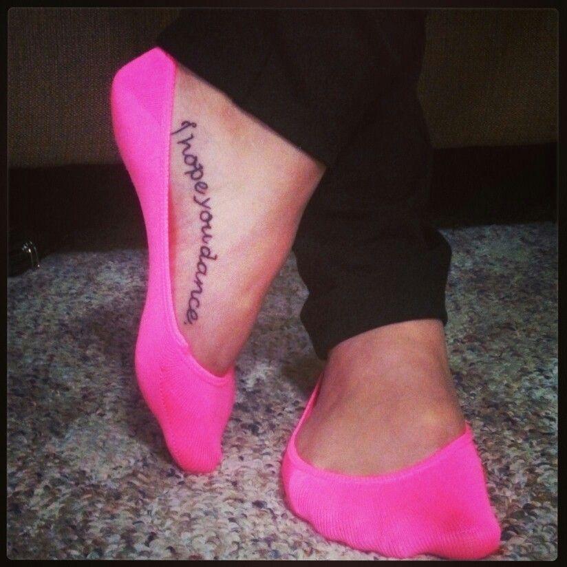 bcda3b751 I hope you dance tattoo. | Me. | Tattoos, Tattoo quotes, Piercings