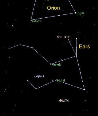 lepus the rabbit constellation - Google Search