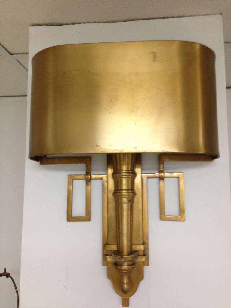 Brass Wall Sconces for a Great Lighting Effect | Light Decorating ...
