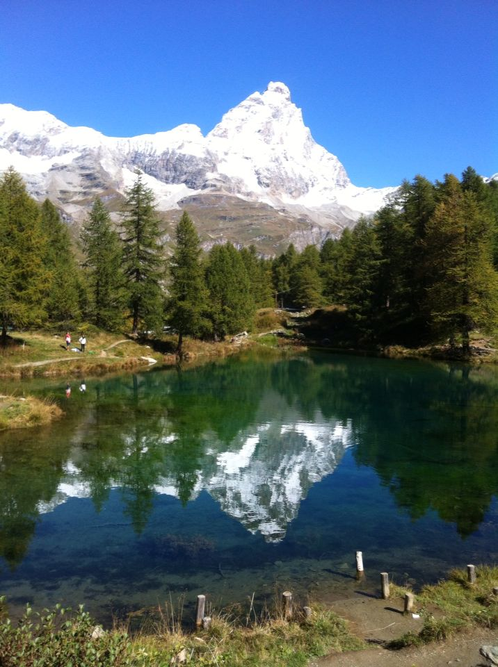 Cervino - Lago Azul / Lac Blue - Cervinia - Valle de Aosta - Italia