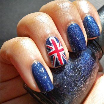 Spanish Flag Nails Spain Nail Art Designs Nails Pinterest