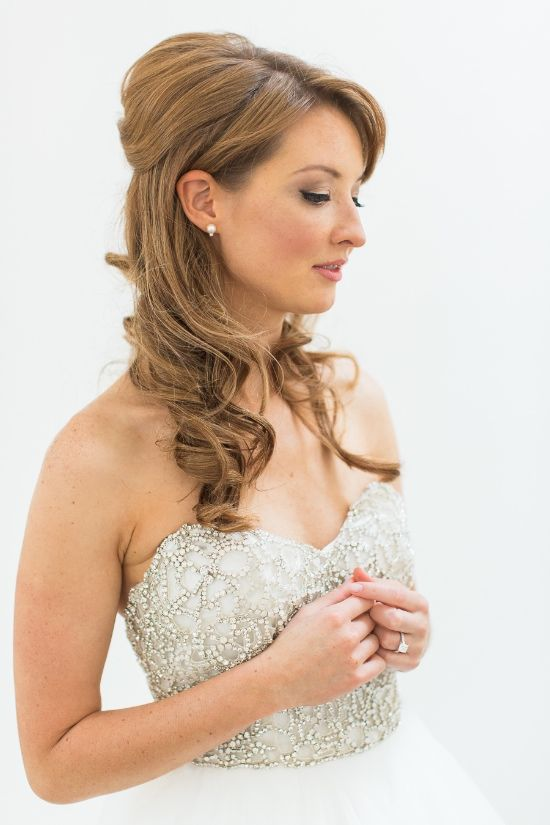 Stunning Wine Country Wedding Wedding Hair Makeup Wedding Braids Wedding Hairstyles
