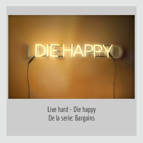 Live hard - Die Happy. YENY CASANUEVA Y ALEJANDRO GONZÁLEZ. PROYECTO PROCESUAL ART.