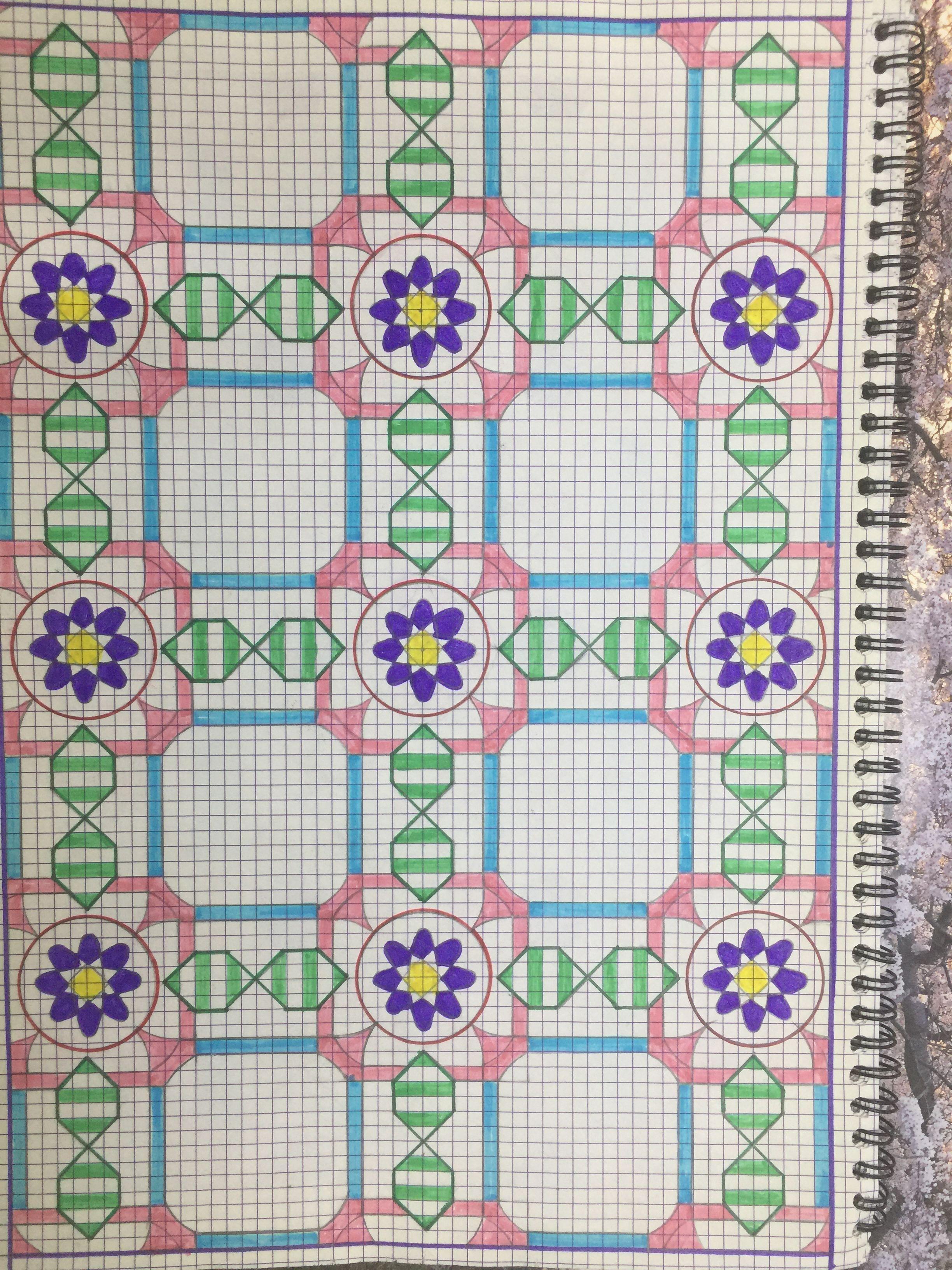 اشكال هندسية إسلامية Quilts Kids Rugs Decor