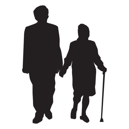 Old Couple Silhouette Couple Ad Sponsored Ad Silhouette Couple Couple Silhouette Old Couples Silhouette