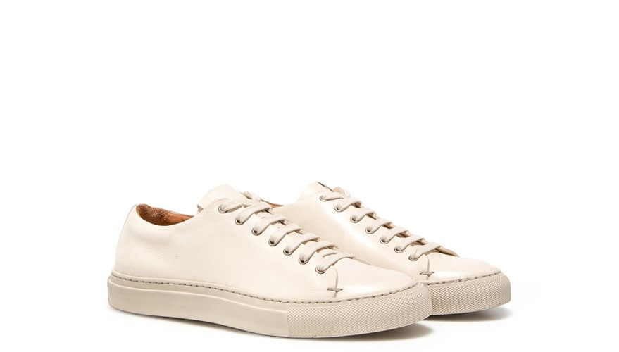 BUTTERO: TANINA LOW SNEAKERS COLOR WHITE (B6520DIV-DG1/02)