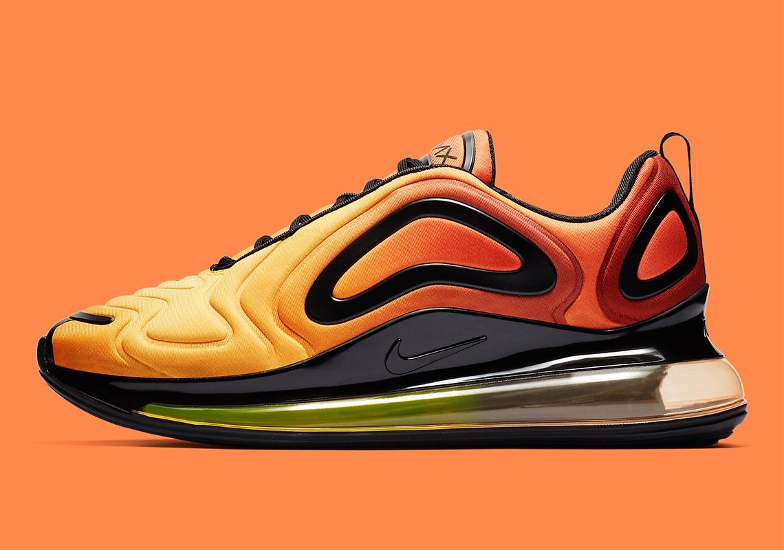 """Nike Air Max 720 """"Sunset"""" Style Code: AO2924 800 Out in"""