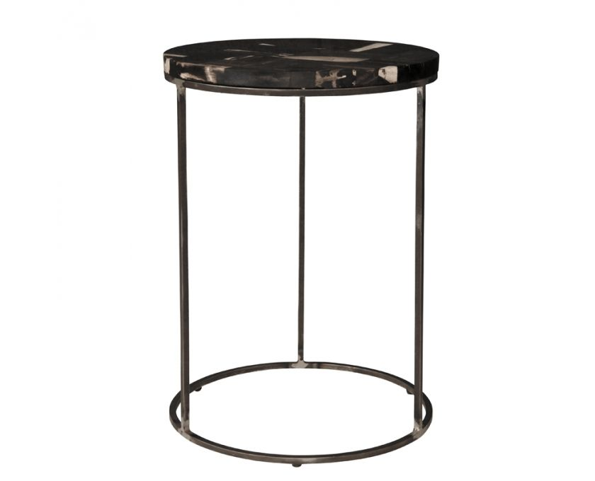Chess Round Side Table Black Furniture Weylandts South Africa
