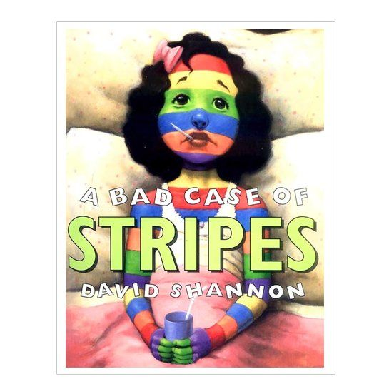 """Summer Reading List: Ages 6-8 """"A Bad Case of Stripes"""" by David Shannon"""