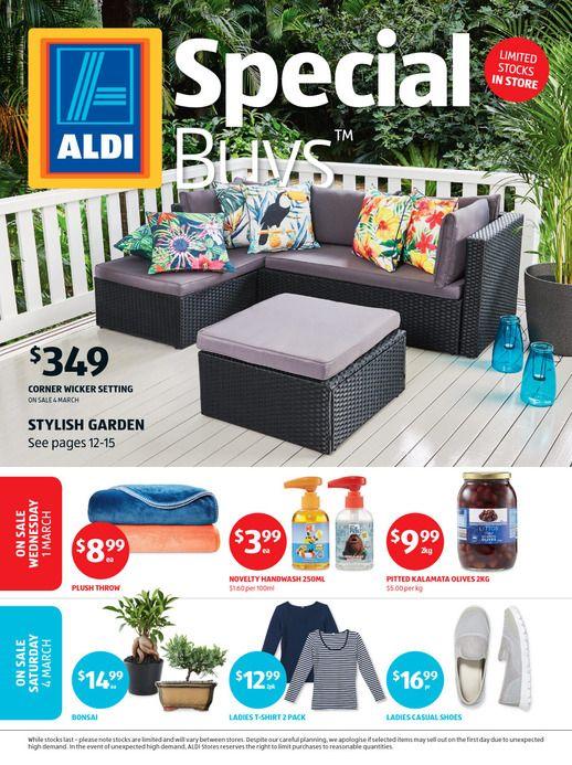 Aldi Special Buys Saturday 28 Mar 2020