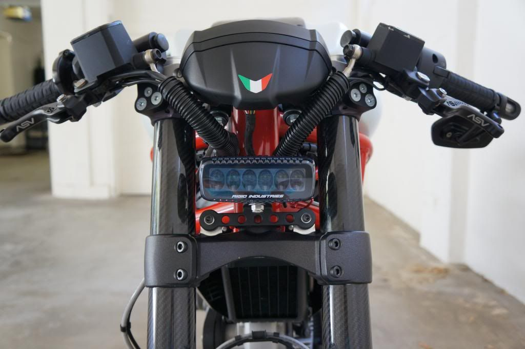 Let There Be Light M796 Led Headlight Project Page 10 Ducati Monster Forums Led Headlights Ducati Monster Bike Headlight