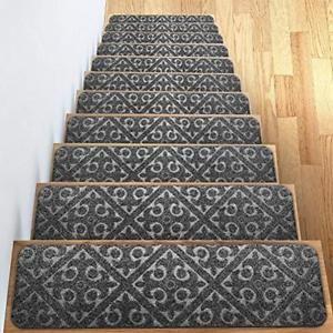 Best Indoor Carpet Stair Treads In 2020 Carpet Stair Treads 400 x 300