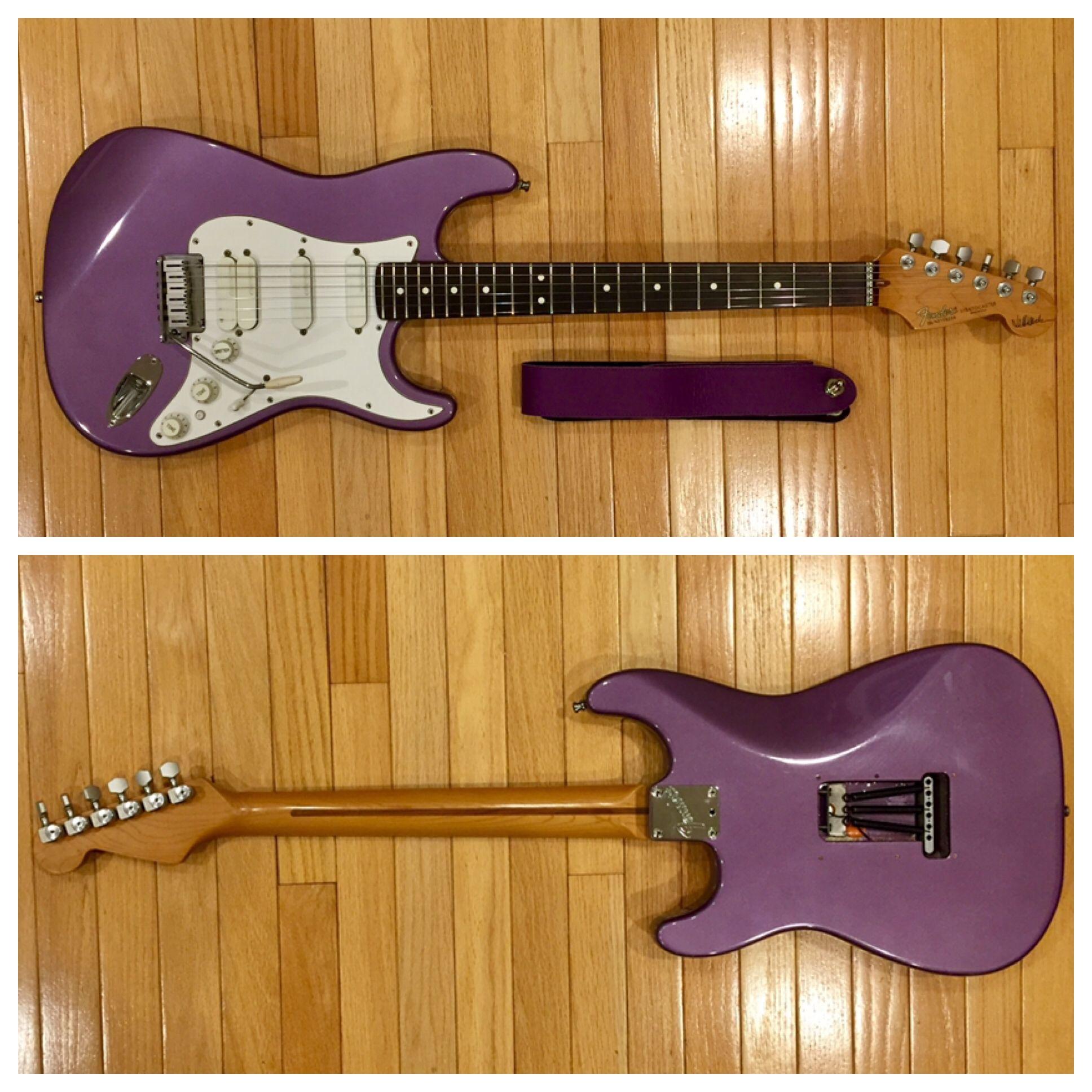 [SCHEMATICS_4JK]  Fender Artist Series 1993 Jeff Beck Stratocaster Electric Guitar in  Midnight Purple | Electric guitar, Fender bass, Guitar | Fender Jeff Beck Stratocaster Wiring Diagram |  | Pinterest