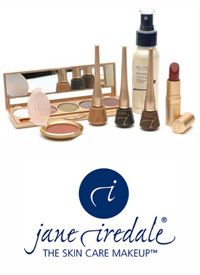 The Jane Iredale mineral makeup range available from www.ginablacksbeautystore.com