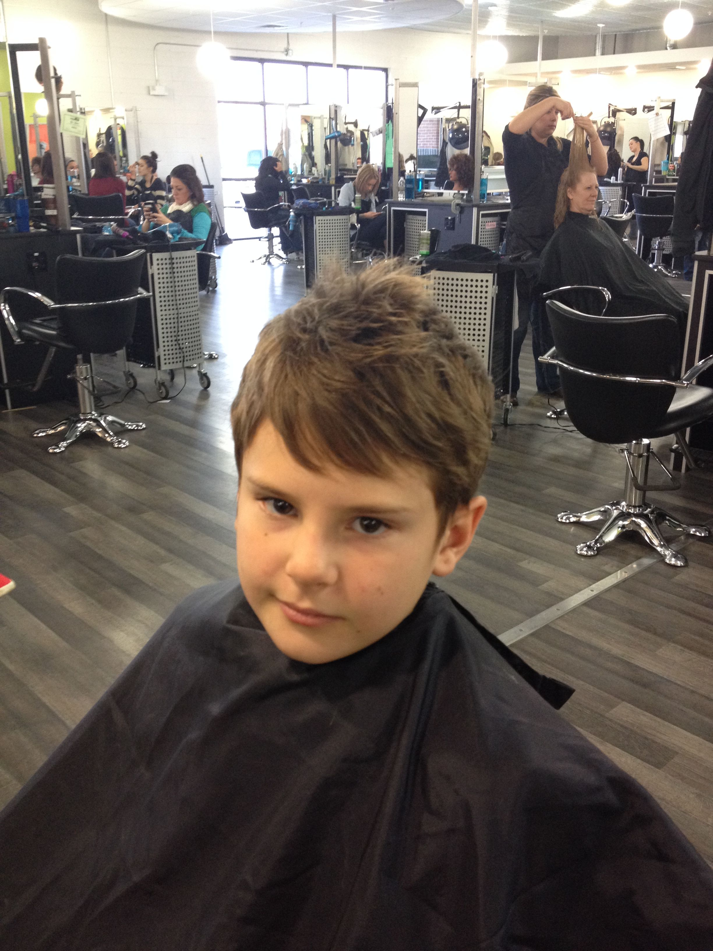 Razor Kids Cut Styled By OFA Cos Student Megan Haircuts For - Boy haircut razor