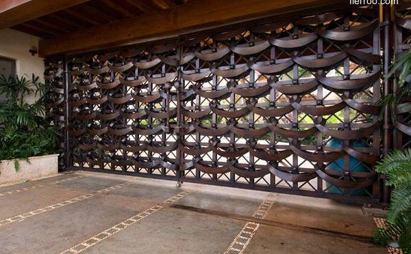 Portones modernos para casas arquitectura de casas for Disenos de puertas para casas modernas