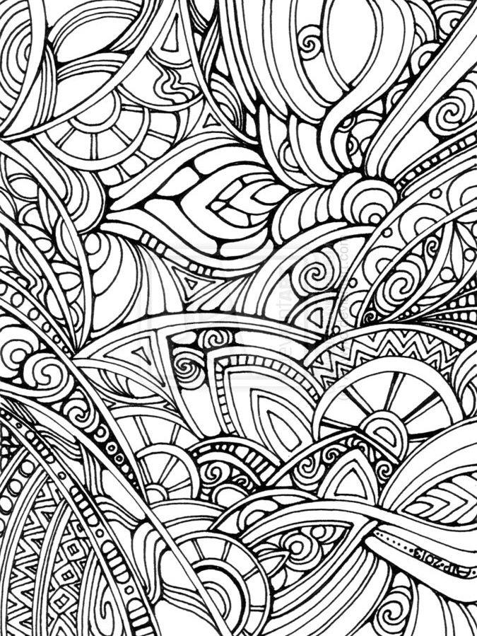 Adult Coloring Page Mangala Mandala Mandaya