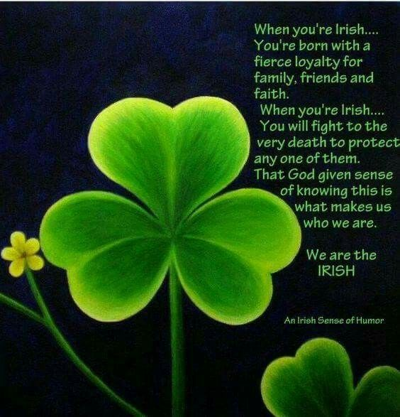 Prayer Quotes For Death In Family: Luck Of The Irish
