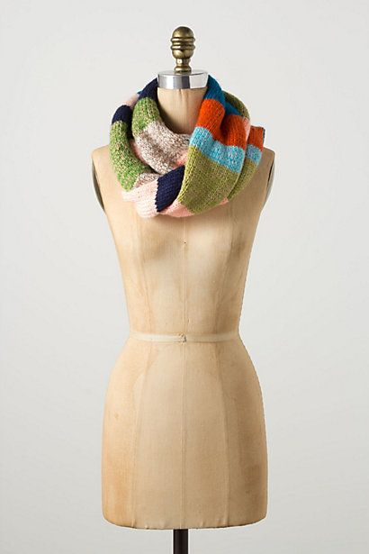 Anthropology Kite Striped Scarf | Future Knitting Projects | Pinterest