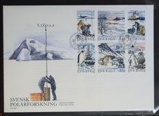 Sweden 1960/1991 - Collection of FDCs in 3 binders and loose