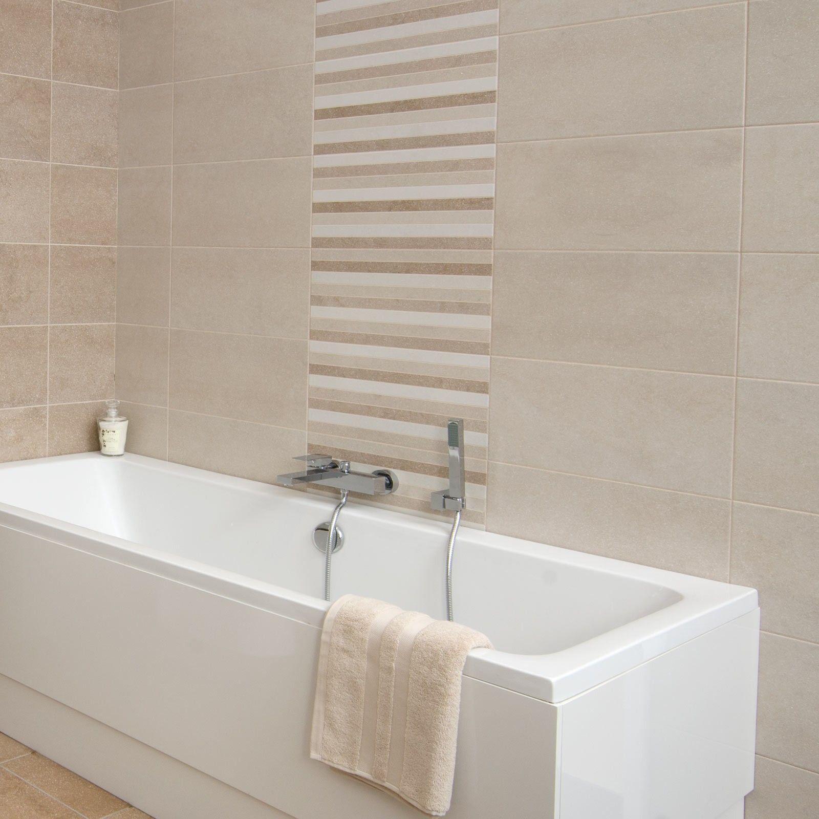 Square Sink Under Wall Mirror Mounted Beige Bathroom Floor Tiles ...