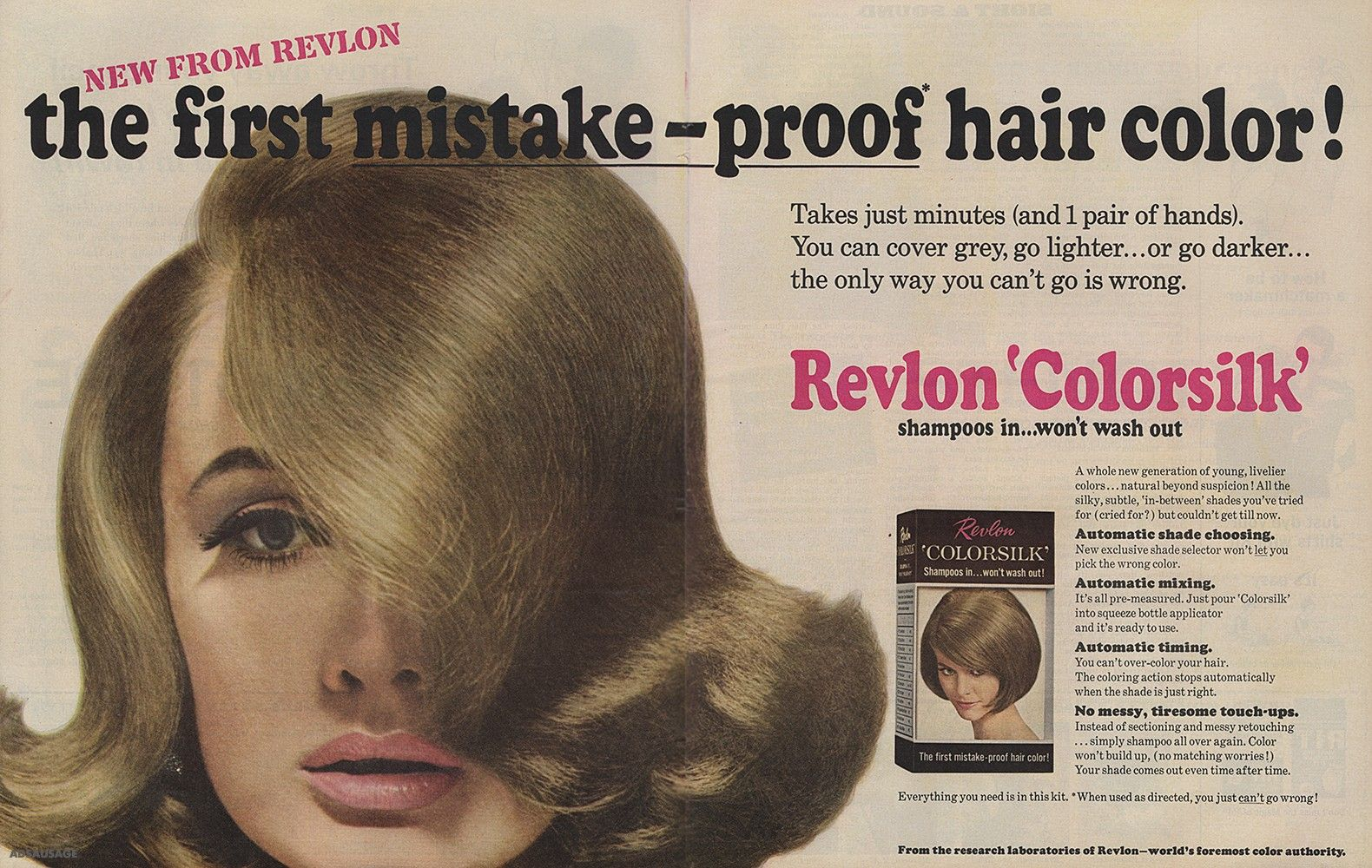 Rvlon Colorsilk Hair Color