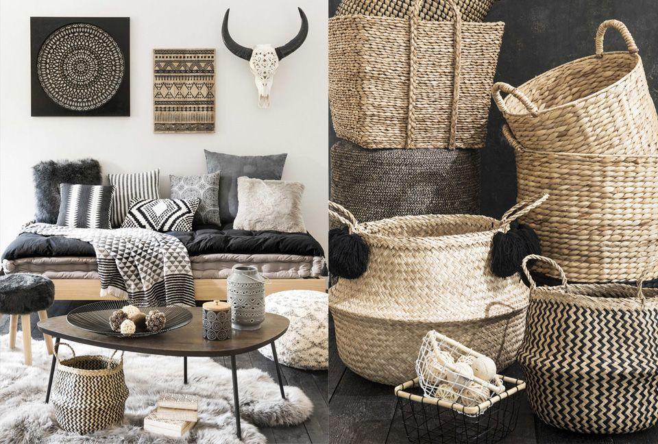 la tendance graphik tribu chez maisons du monde visite. Black Bedroom Furniture Sets. Home Design Ideas