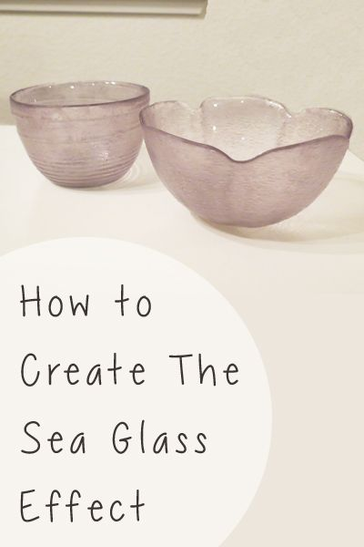 DIY Seaglass - A Formula That Works | Colorante, Funciona y Vidrio
