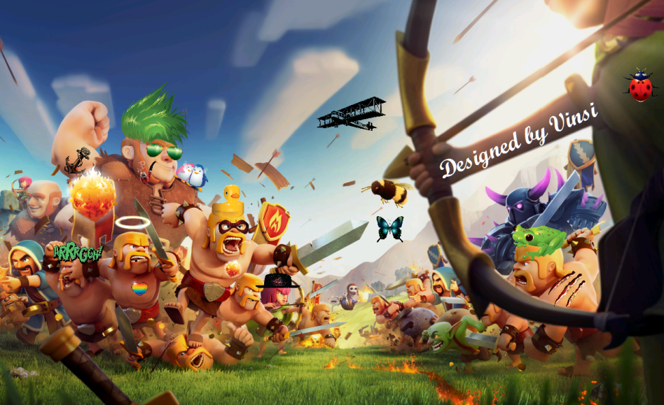 Clash of Clans Universal Unlimited Mod/Hack v6 407 2 APK is Here