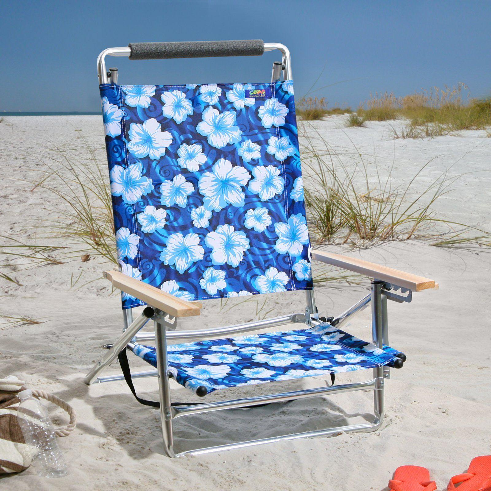 high back lightweight beach chair Beach chairs, Aluminum