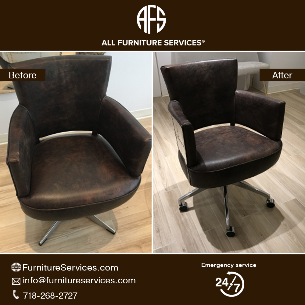 #Chair #Metal #Replacing #Base #Mechanism #Adding #Casters #Changing
